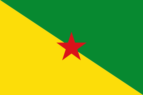 Flag of Franska Guyana