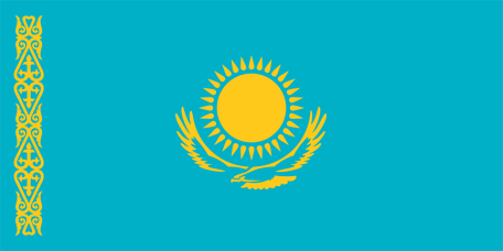 Flag of Kazakstan